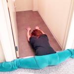 どんなに体がかたい人でもベターッと開脚できるようになるすごい方法 #Eiko #開脚の女王 #泉栄子