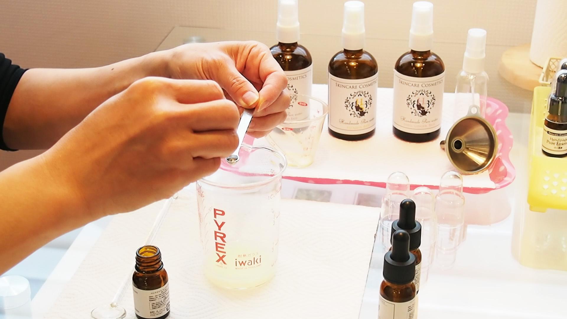 プラセンタ・コラーゲン・ヒアルロン酸で自分の肌に合った化粧品を作る