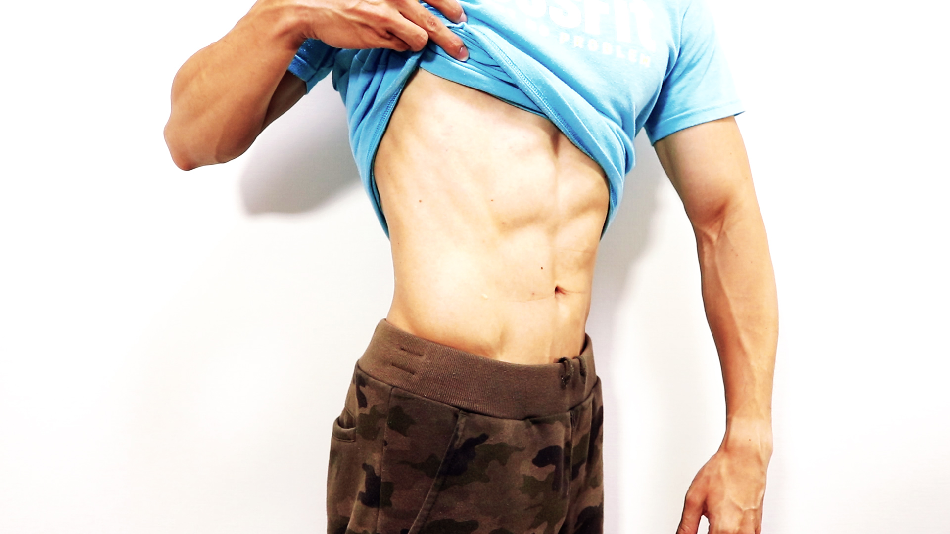 課題:横腹の脂肪を落とすにはどうするべきか?