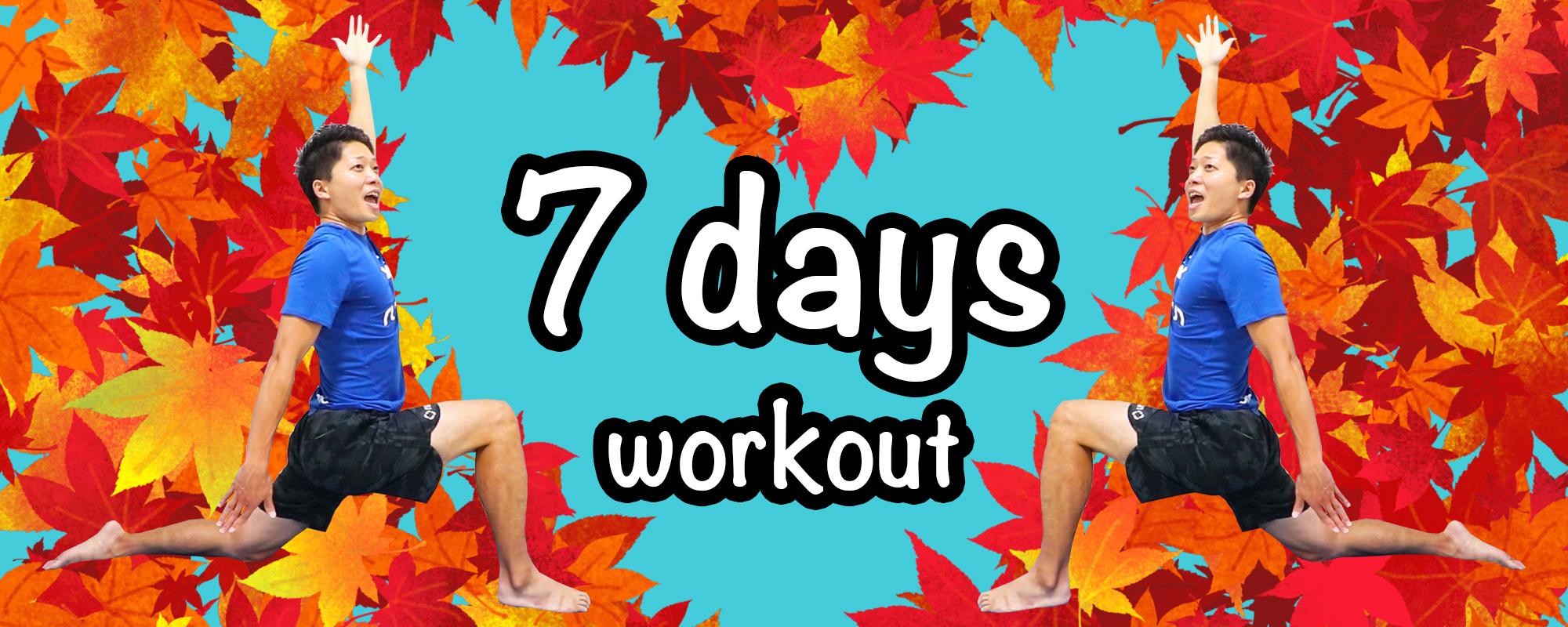 Full body 7 days program