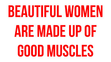 Beautiful women are made up of good muscles / Tatsuya Takaine